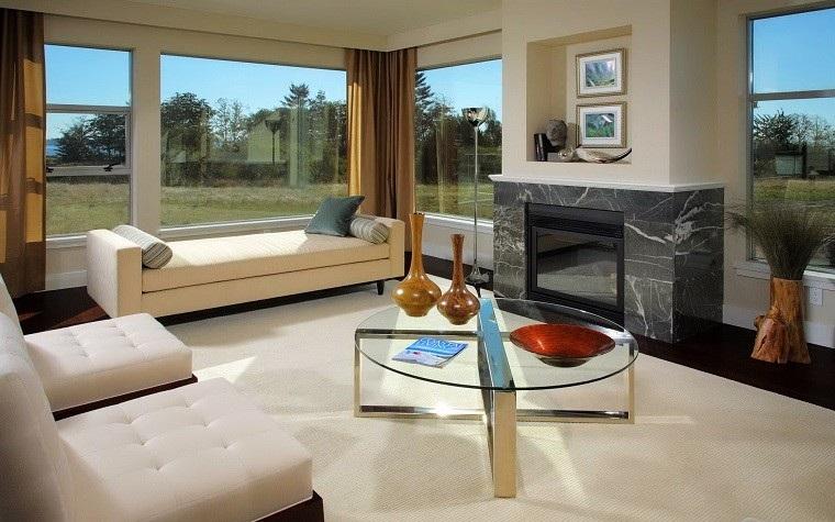 mobili soggiorno moderni camino elettrico