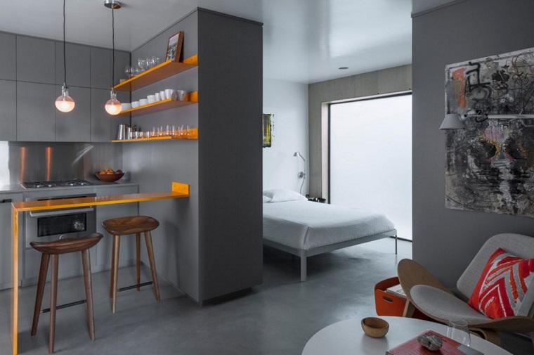 monolocale appartamenti moderni idee arredo