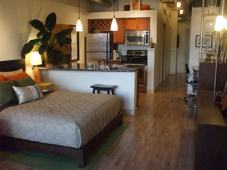 monolocale arredare piccoli spazi immobile
