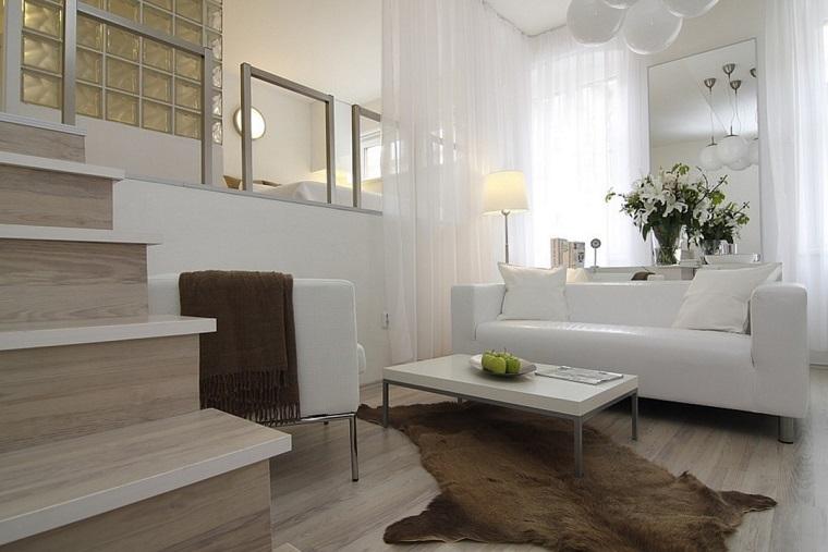 monolocale design interiore idea soppalco