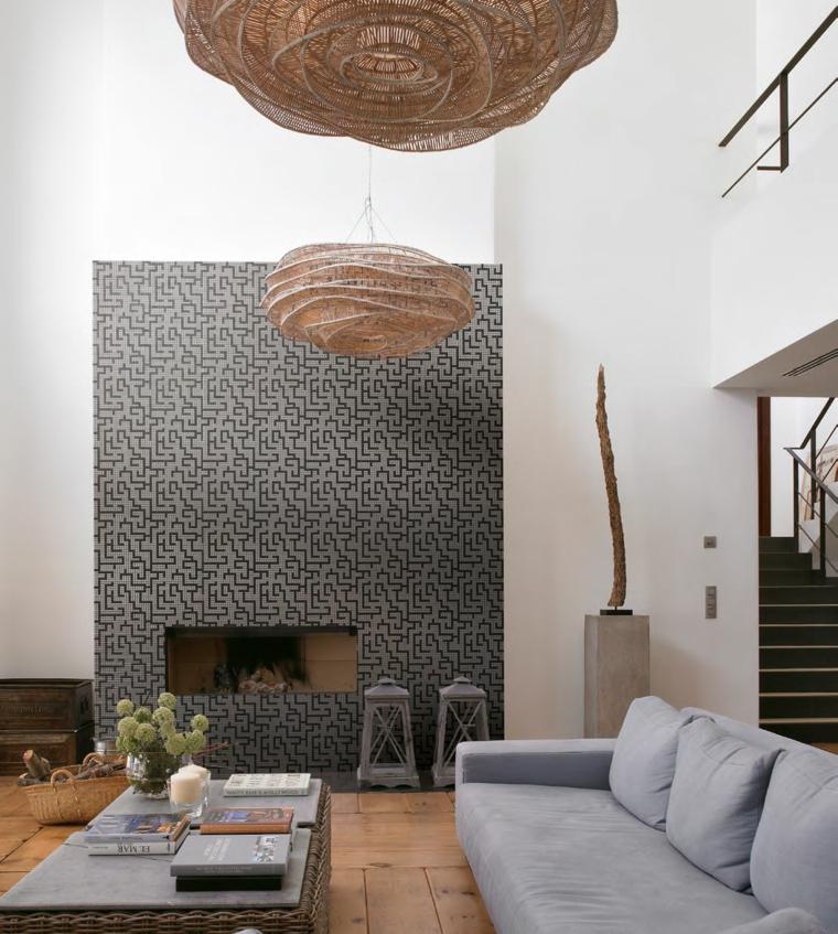 Decorazioni pareti di legno e 3d effetti abbelliscono il muro