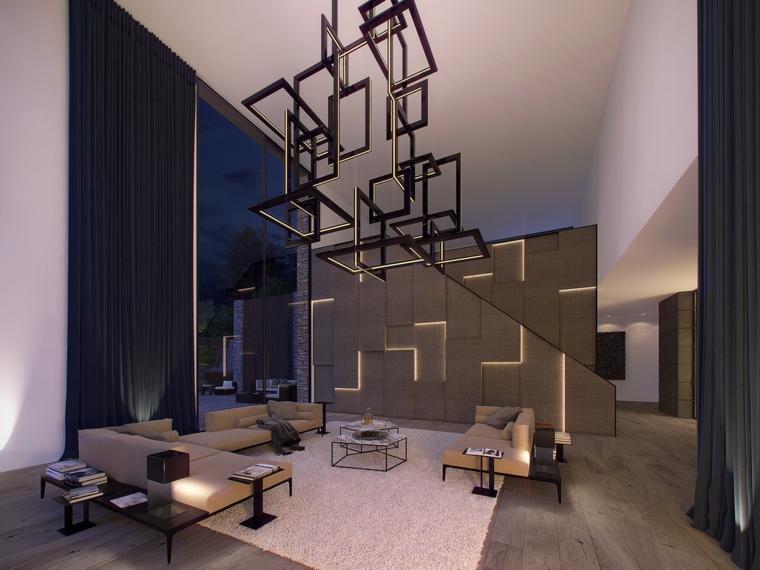 pannello decorativo separa sapzio casa moderna
