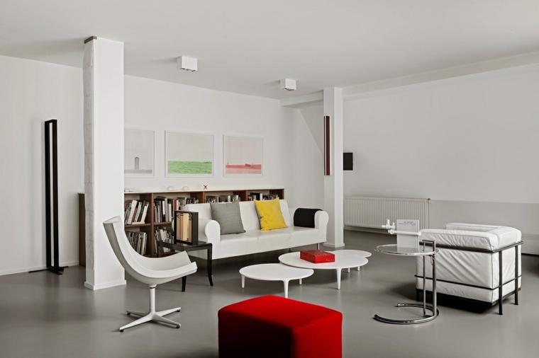 Soggiorni moderni con arredamento vintage e retrò - Archzine.it