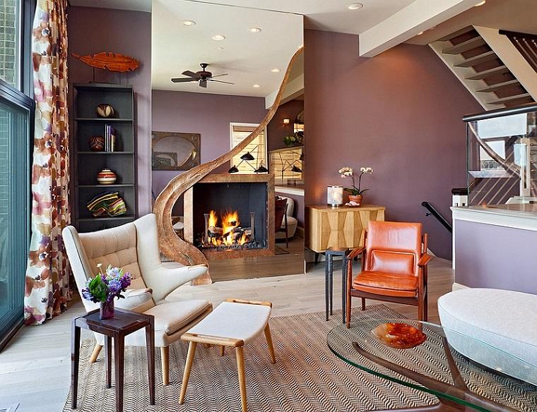 soggiorno idee autunnali decorare stile