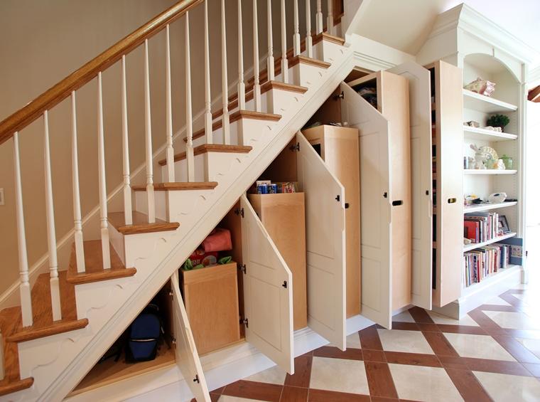 spazio casa organizzato modo giusto