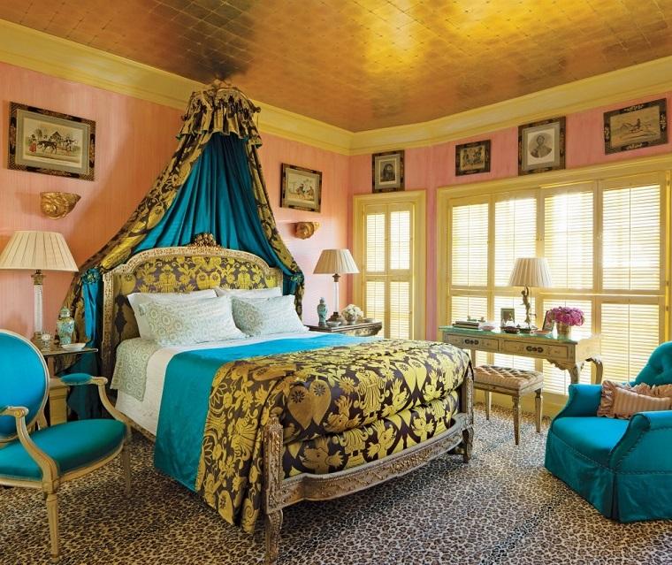stile bohemien chic camera da letto