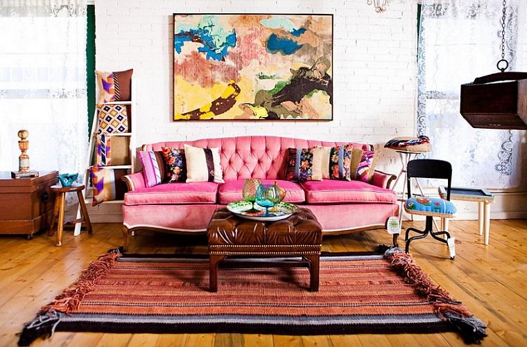 stile bohemien cose per la casa salotto