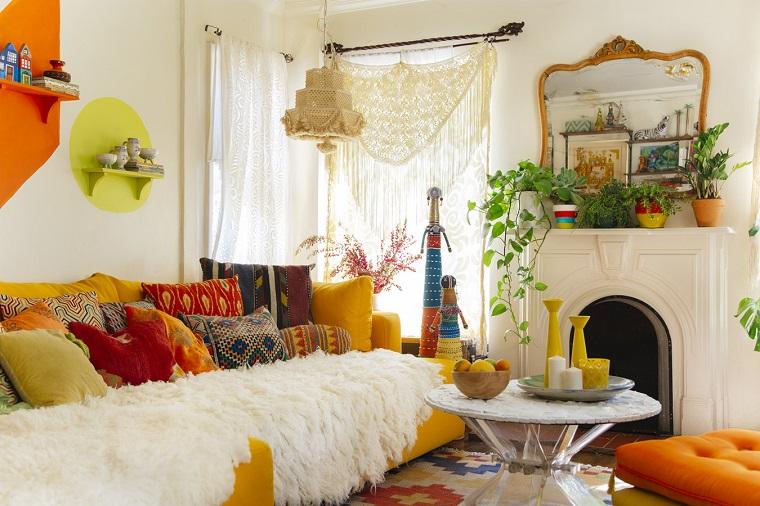 Stile bohemien per la casa con idee e consigli per l for Arredamento originale casa