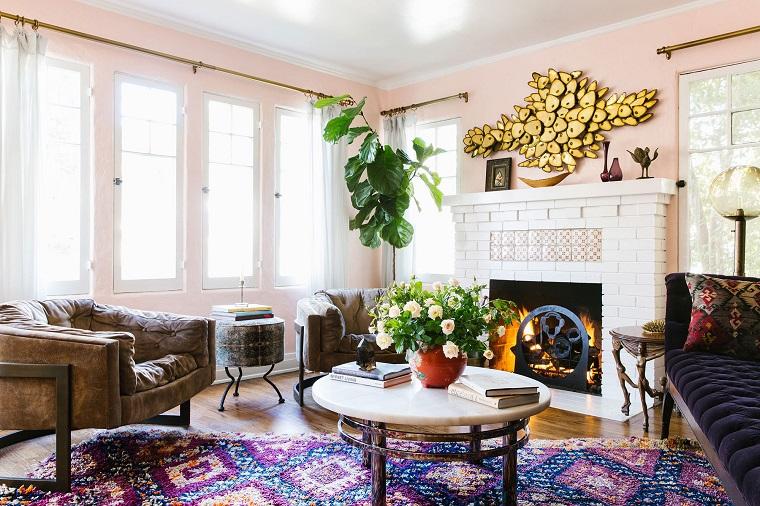 Stile bohemien per la casa con idee e consigli per l for Idee per la casa arredamento