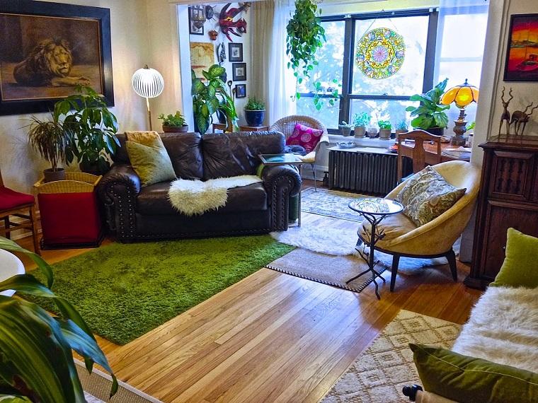 stile bohemien interior design casa