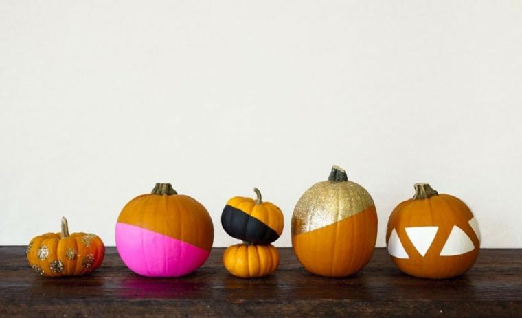 zucca-di-halloween-idee-fai-da-te-decorazione-colorata-luccicante