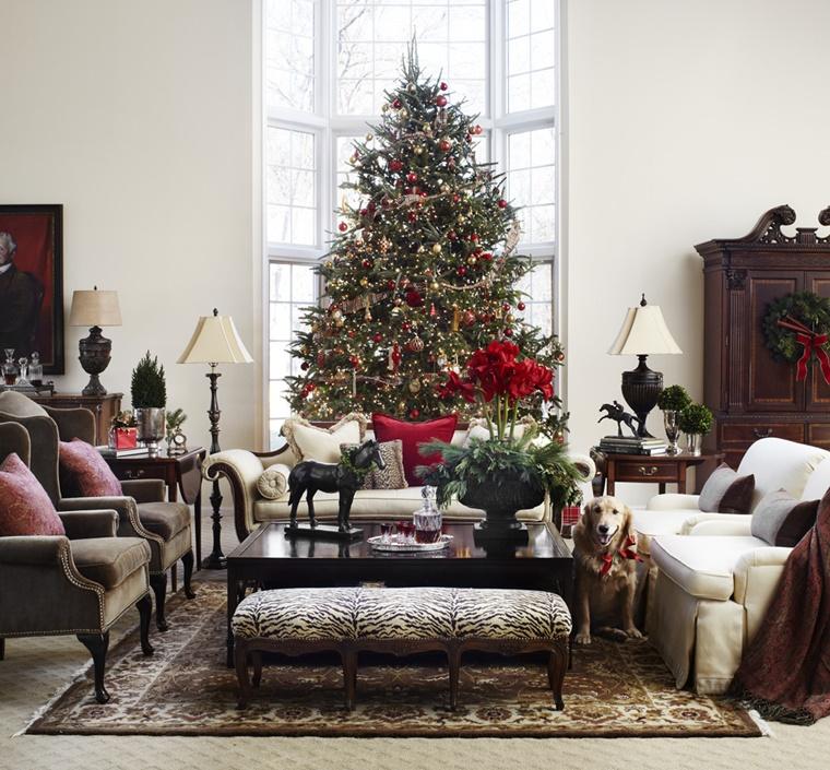 addobbi nadalizi decorare casa albero natale