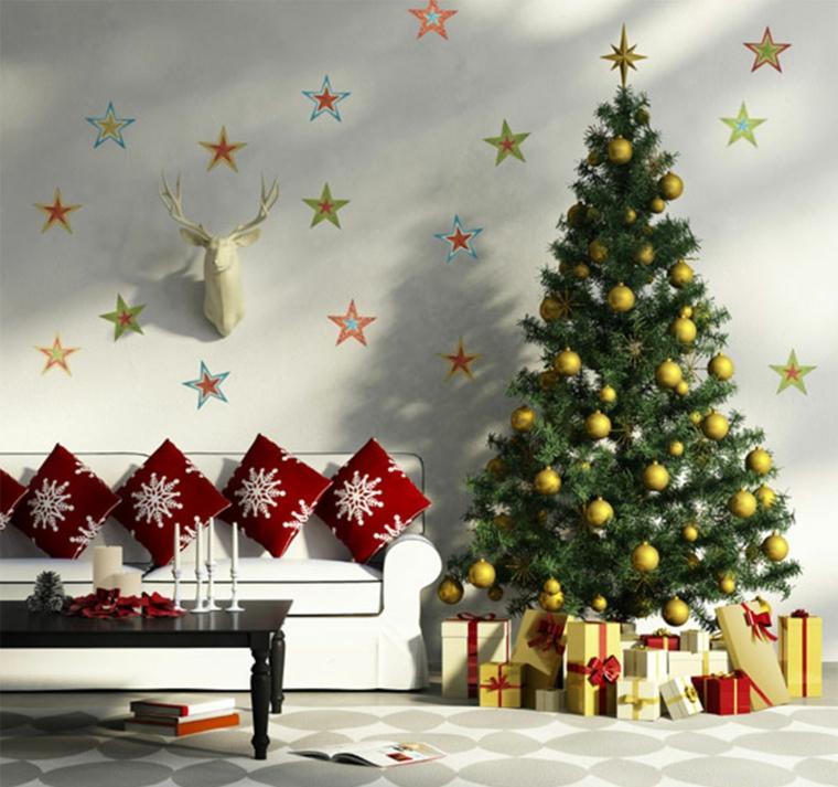 addobbi natalizi albero natale soggiorno