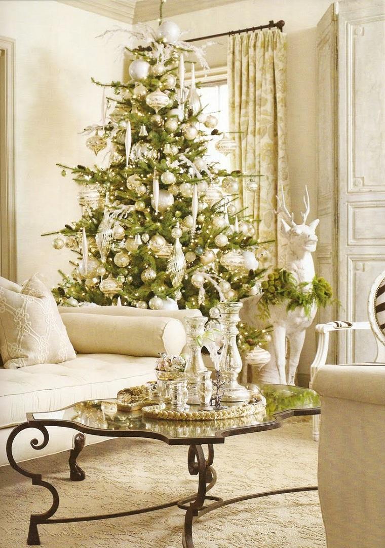 addobbi natalizi fai da te bianchi
