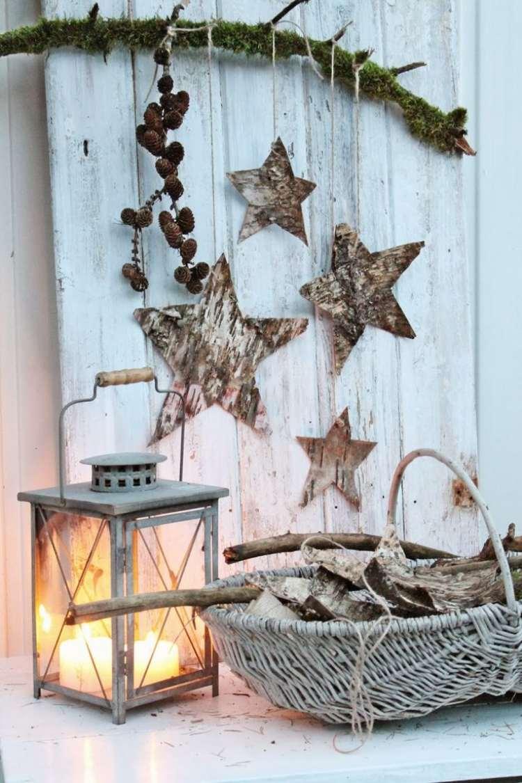addobbi natalizi fai da te decorare giardino