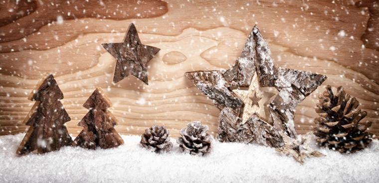 addobbi natalizi fai te decorare casa