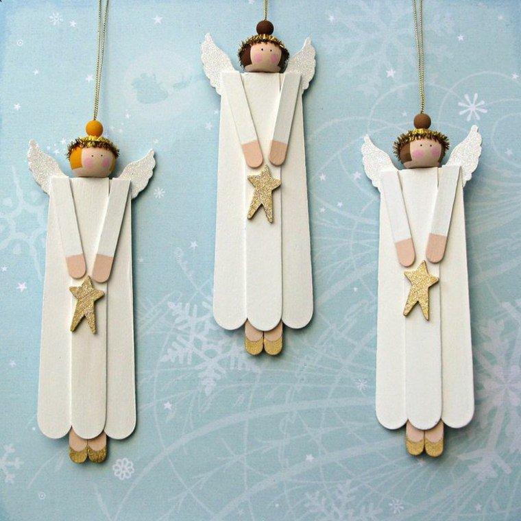 addobbi natalizi legno piccoli anglioletti