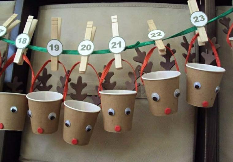addobbi natalizi per bambini calendario originale