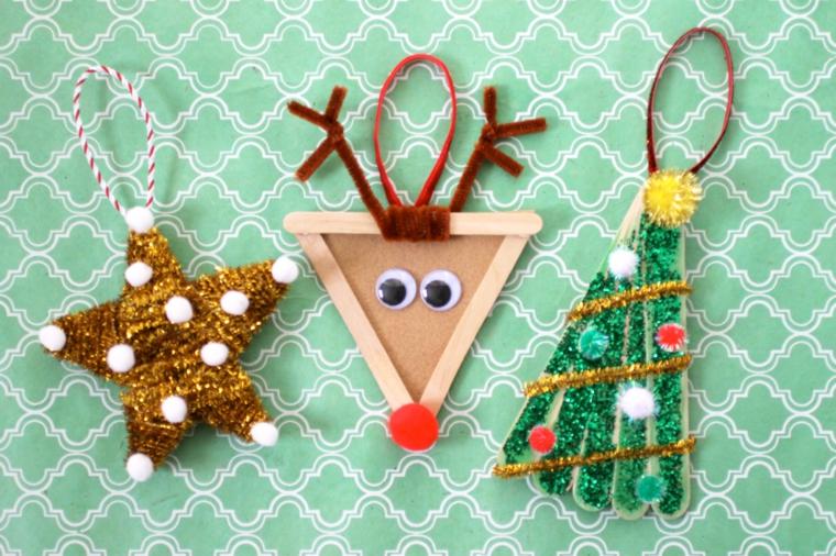 addobbi natalizi per bambini colorati semplici