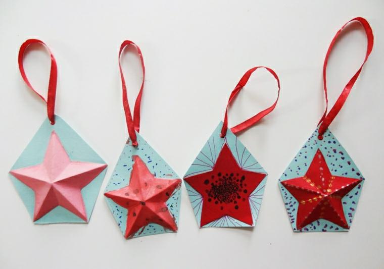addobbi natalizi per bambini forma stella