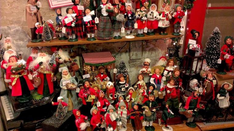 addobbi natalizi per negozi incredibili