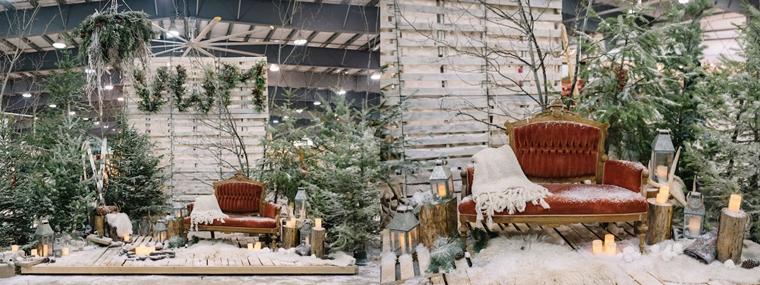 addobbi natalizi per negozi originali