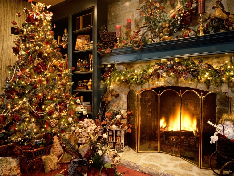 Alberi Di Natale Eleganti Immagini.Alberi Di Natale Addobbati Luci Colori Fiocchi E Tanto Altro Ancora Archzine It