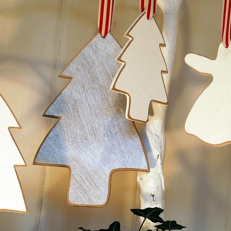 albero decorativo legno ghirlanda speciale