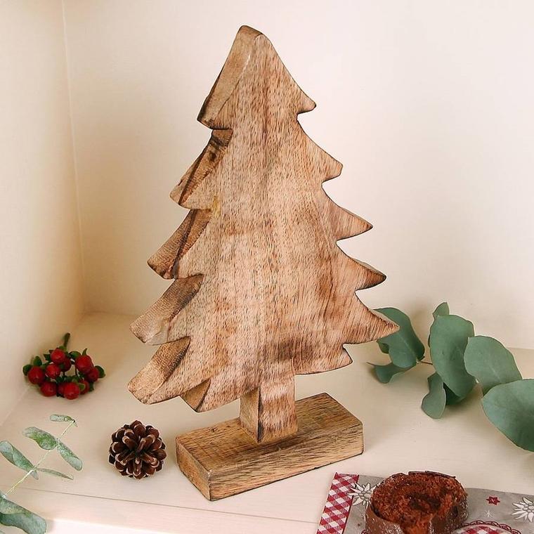 Lavoretti di natale stupendi fatti a mano e tutti in legno for Alberi di natale fai da te in legno
