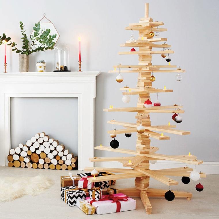 Albero Di Natale Legno Fai Da Te.Lavoretti Di Natale Stupendi Fatti A Mano E Tutti In Legno