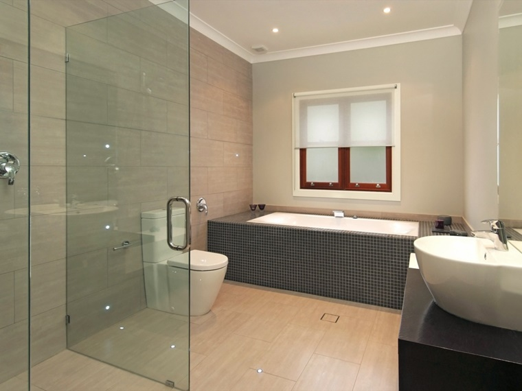 Bagno In Camera Con Vetrata : Arredamento bagno idee per la camera da letto archzine