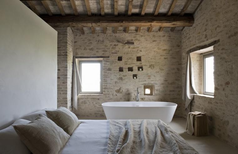 Vasca Da Bagno Nella Camera Da Letto : Arredamento bagno idee per la camera da letto archzine
