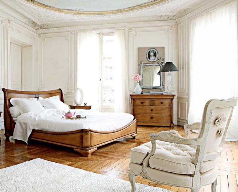 arredamento camera da letto classica mobili legno