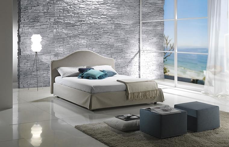 arredamento camera da letto stile minimal
