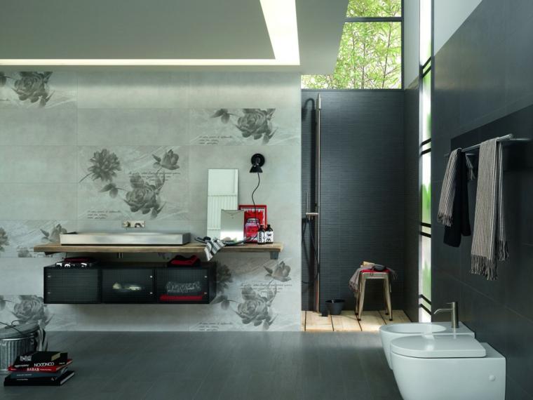 arredamento contemporaneo piastrelle bagno decorazioni