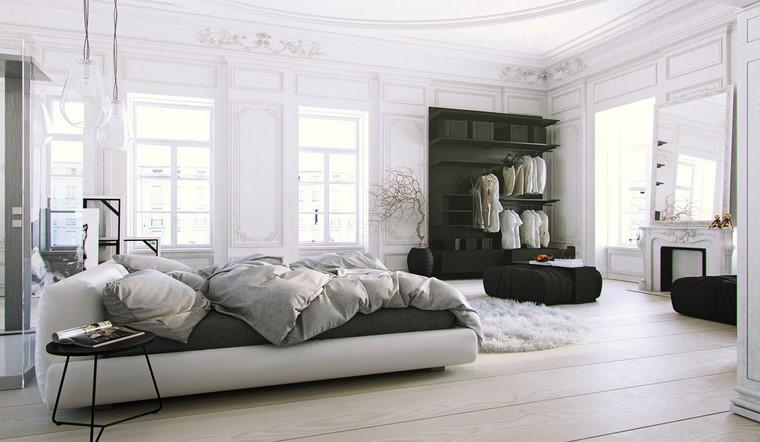 arredamento minimal stanza letto moderna
