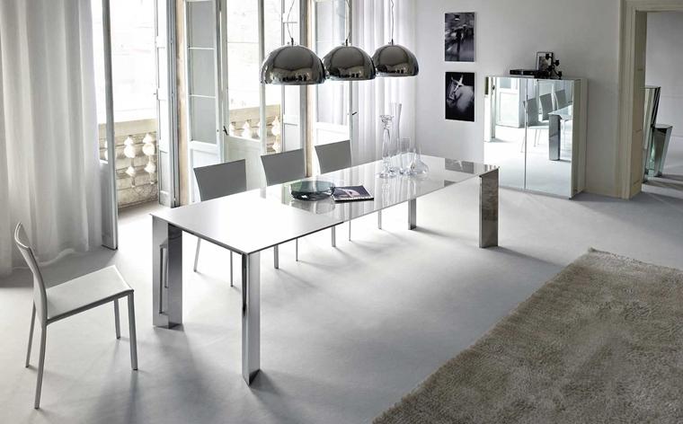 arredamento moderno lussuoso sala pranzo
