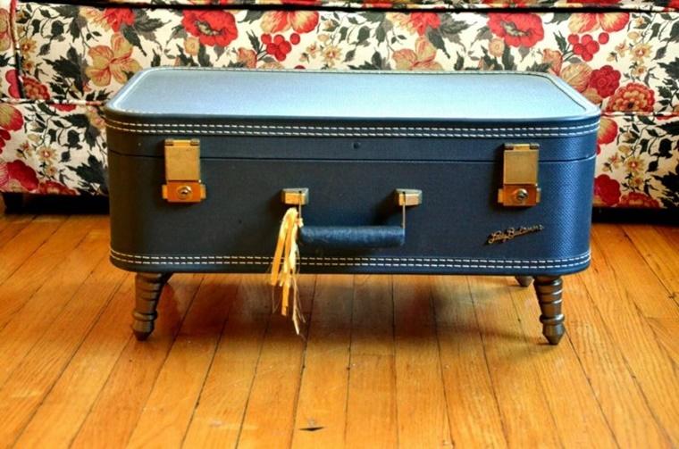 arredamento vintage tavolino tipo valigia