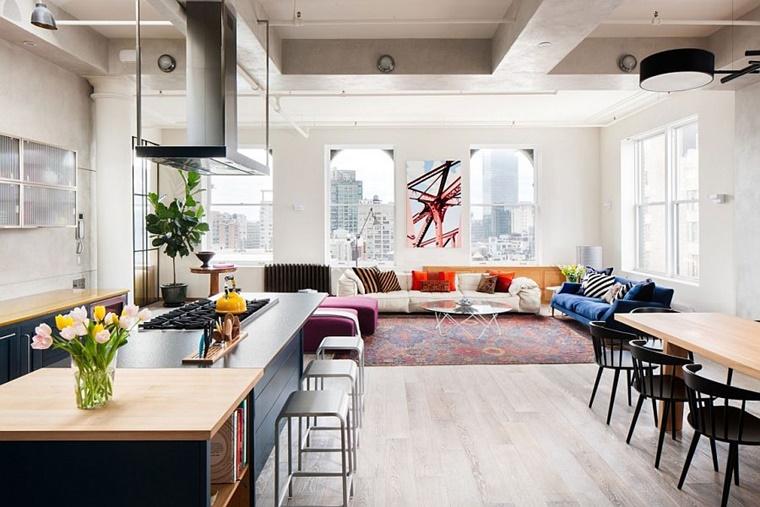 arredare casa appartamento ambiente aperto