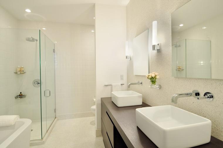 arredo bagno moderno lavabo appoggio mobile bagno