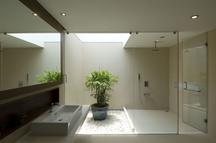 arredo bagno moderno minimal linee pulite raffinate