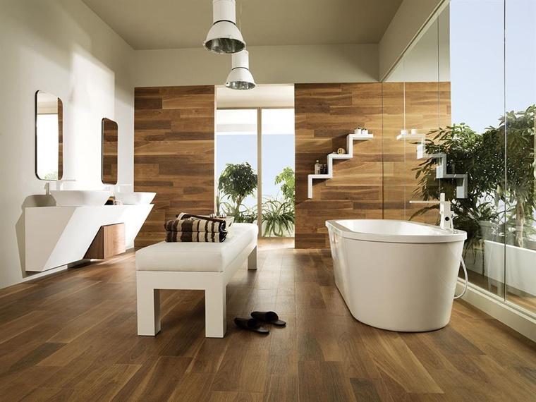 arredo bagno moderno parquet sanitari ceramica