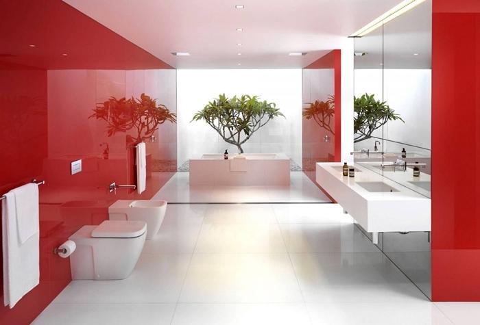 arredo bagno - idee eleganti e moderne da copiare - Bagni Moderni Rossi