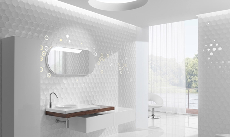 arredo bagno moderno stile minimalista