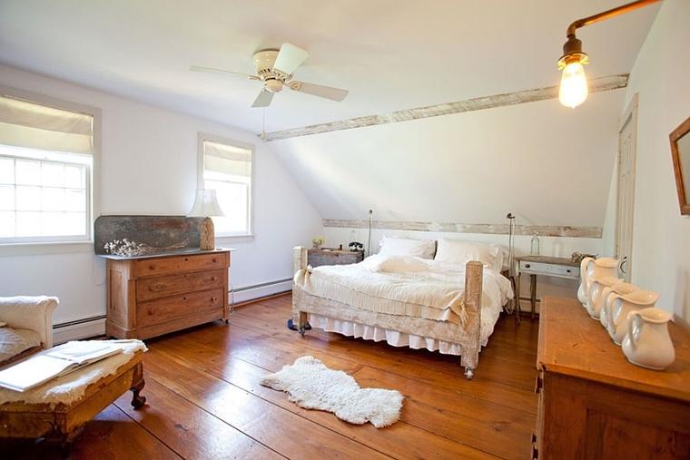 arredo casa stile rustico legno