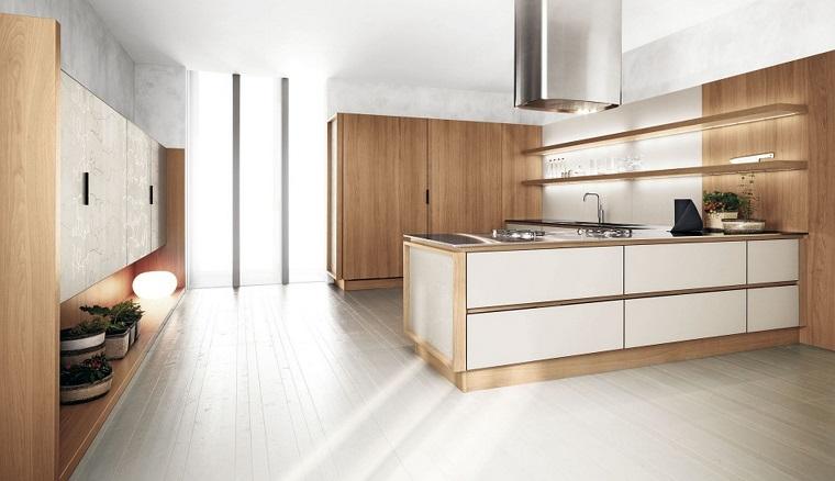 Arredamento Legno E Bianco.Come Arredare Una Cucina Con Mobili Bianchi E Legno Archzine It