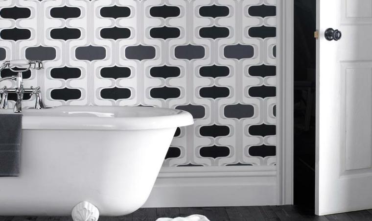 bagni moderni carta pareti rivestimenti
