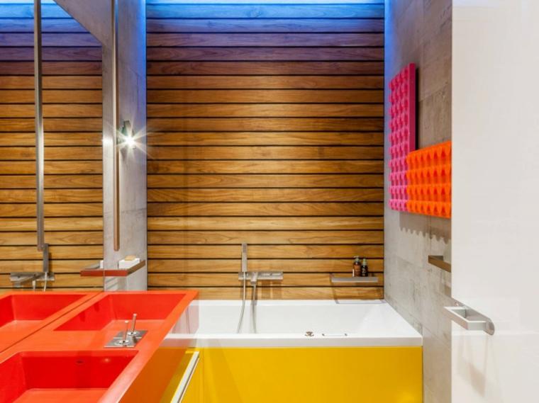 bagno moderno particolare elegante vivace