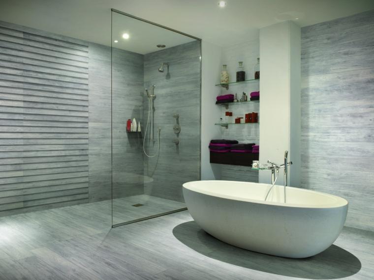 bagni moderni porcellana spazioso particolare