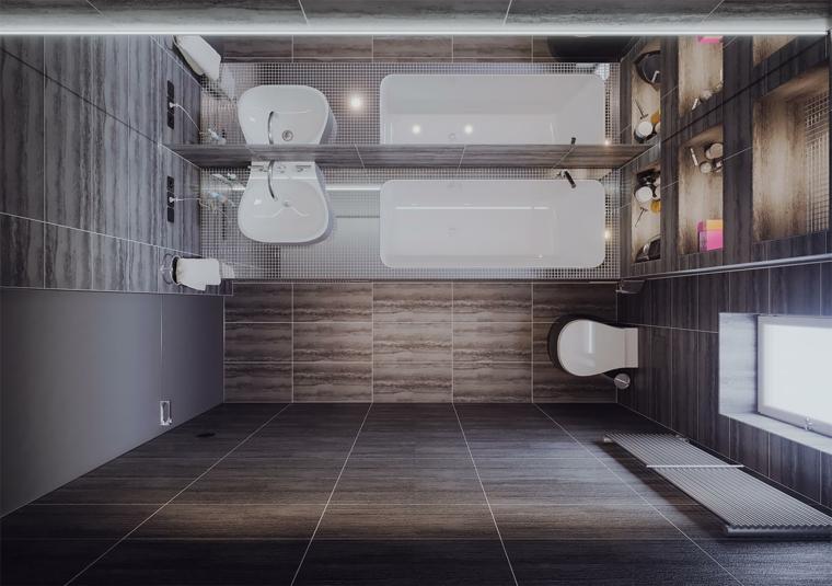 Bagni piccoli idee e consigli per gli spazi ridotti for Bagni di design 2016